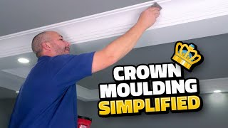 Light Weight DIY Crown Molding YOU Can Install Alone!