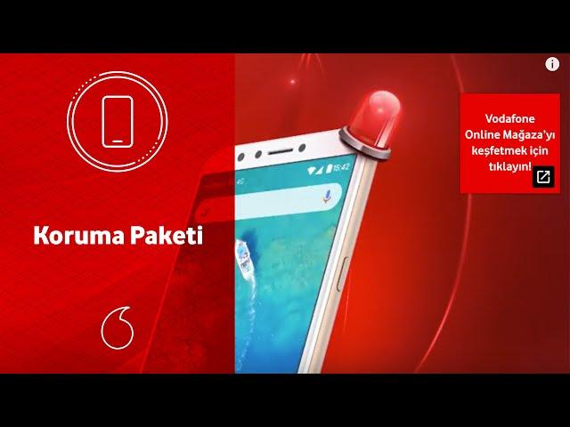 Vodafone Online Mağaza ile hediye koruma paketinde neler var?