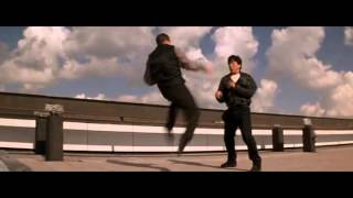 Jackie Chan Who Am I    Funny Fighting Scene   [[English Dubbed]]