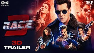 Race 3 Movie - 3D Trailer | Salman Khan | Remo D