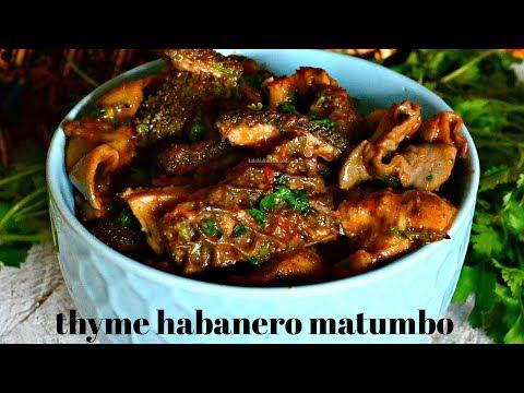 BEST MATUMBO RECIPE   HOW TO MAKE MATUMBO   THYME HABANERO MATUMBO – KALUHI'S KITCHEN