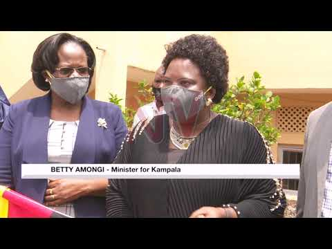 Mask distribution begins in Kampala