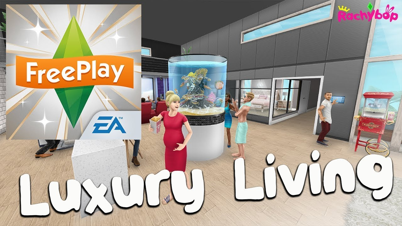 The Sims Freeplay Luxury Living Update EVENT DATES!