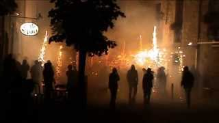 preview picture of video 'Correfoc d'Olost 2013 | Els Cremats d'Olost'