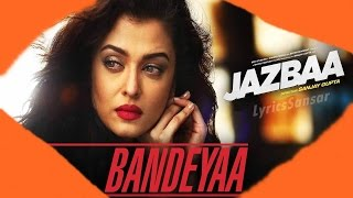 Jazbaa | Jubin Nautiyal feat. Aishwarya Rai Bachchan | 2015