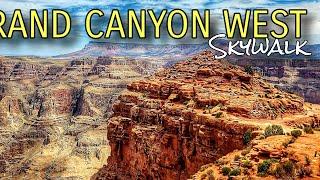 [4K] GRAND CANYON WEST SKYWALK 2020