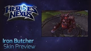 Iron Butcher Skin Preview
