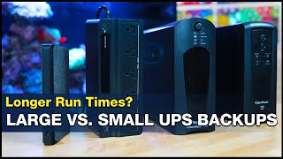 What battery backup SIZE is the best? What about lithium ion backup? | BRStv Investigates