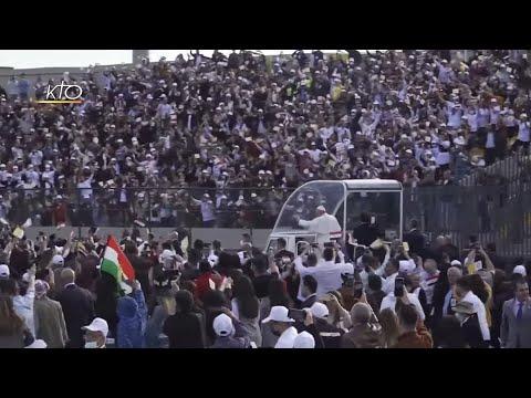 Jour de fête au stade d'Erbil
