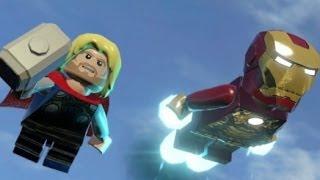 LEGO Marvel Super Heroes 100% Walkthrough Part 10 - That Sinking Feeling (MODOK Boss Fight)