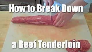 How To Butcher A Beef Tenderloin