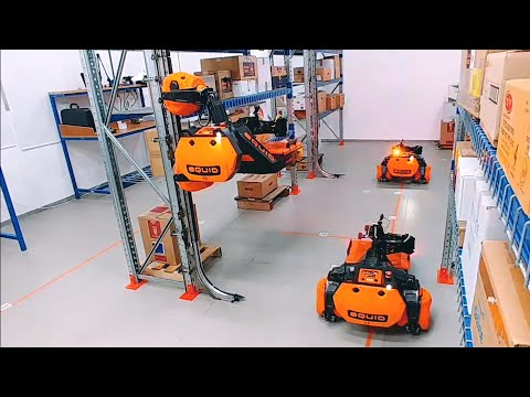 5 Amazing Warehouse Robots You Must See