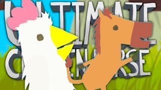 BE A D**K TO YOUR FRIENDS!! | Ultimate Chicken Horse #1 | Kholo.pk