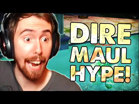 Asmongold Reacts to Dire Maul RELEASE: Everything You Need to Know About Phase 1.5!