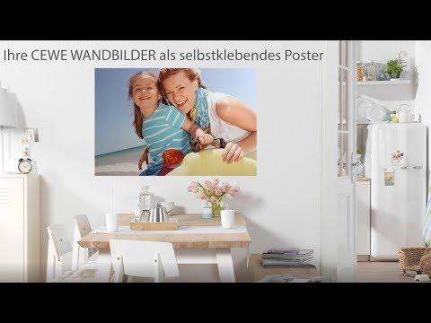 CEWE WANDBILDER als selbstklebendes Poster