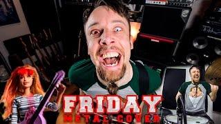 Rebecca Black - Friday (metal cover by Leo Moracchioli)
