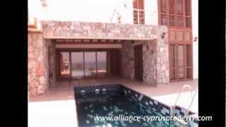 preview picture of video 'Недвижимость на Кипре,вилла люкс. Cyprus property from developer'