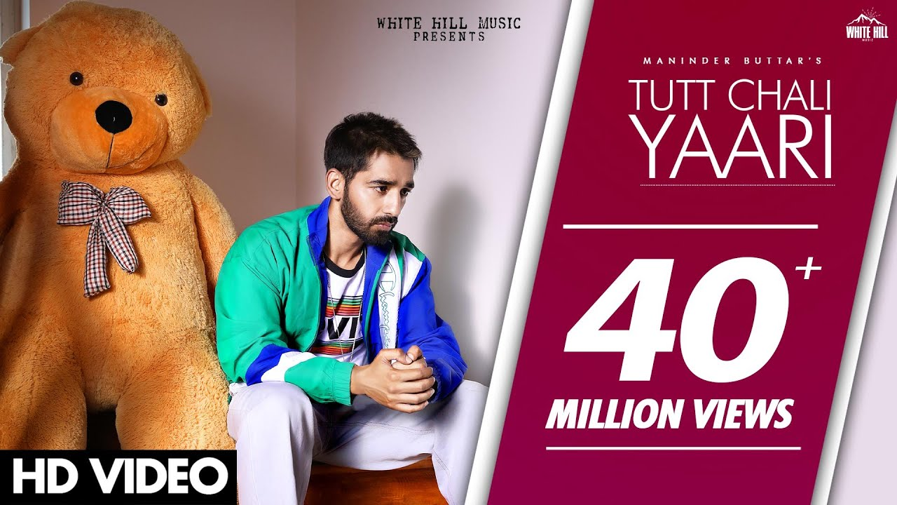 Tutt Chali Yaari Lyrics in English - Maninder Buttar | MixSingh | Babbu | DirectorGifty