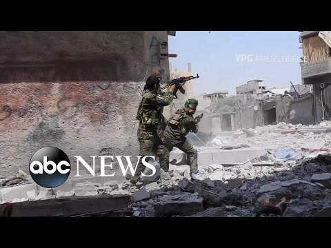Syrian forces battle ISIS for the city of Raqqa