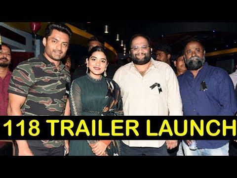 118 Movie Trailer Launch | Kalyan Ram | Niveda Thomas | Shalini Pandey | Top Telugu Media