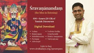 Day 1 - Upanyasam on Srimad Ramayanam by Sri. Dushyanth Sridhar