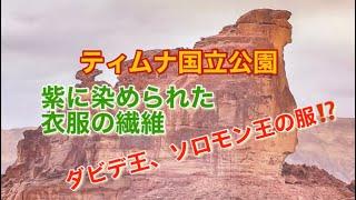 mqdefault - 【ティムナ国立公園】で見つかった3000年前の紫のウール ソロモン王の衣服⁉️