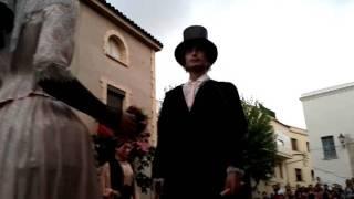 preview picture of video 'Festa Major Petita Cubelles 2011 - Ball final dels gegants de Cubelles'