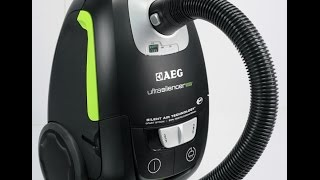 AEG Ultra Silencer Staubsauger - Produkttest / KleeneMelle81
