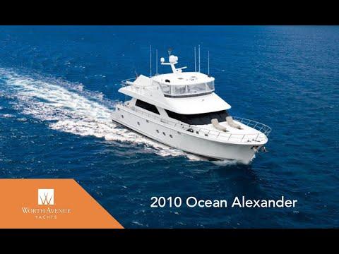 Ocean Alexander 74' Pilothouse Motor video