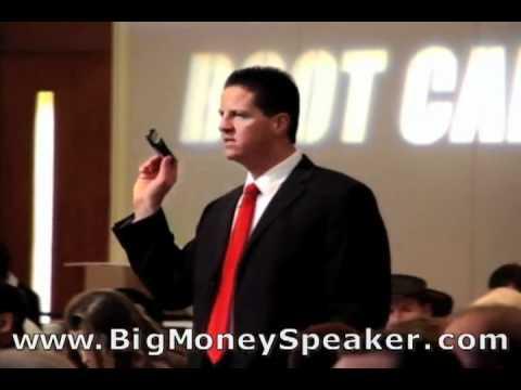 Speech Topic Should Match Your Marketing Materials