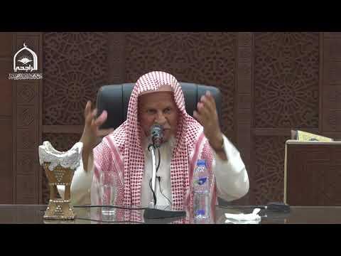 كلمة الشيخ سليمان العريفي
