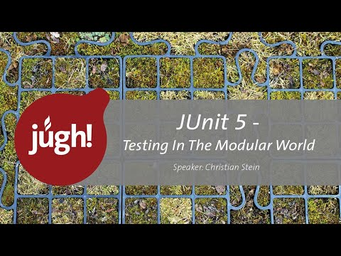 Video der Java User Group Hessen zum Thema JUnit 5