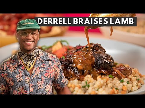 Derrell Smith Braises a Perfect Lamb and Fluffs Couscous for an Easy Dinner