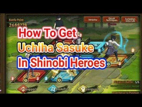 Video Cara Mendapatkan Uchiha Sasuke DI SHINOBI HEROES