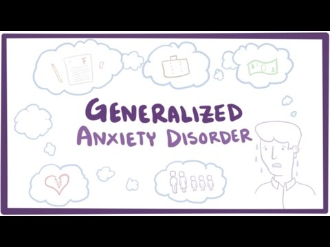 Video Generalized anxiety disorder (GAD) - causes, symptoms & treatment