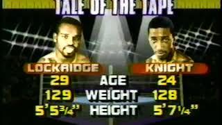 Rocky Lockridge Vs Harold Knight