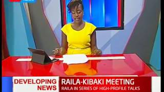 News Desk Bulletin: Raila Odinga meeting former President Mwai Kibaki at his Muthaiga Home