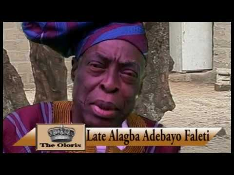 The visit of Oloris of Oyo Alaafin to Alagba Adebayo Faleti's House