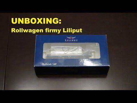 UNBOXING: Rollwagen firmy Liliput
