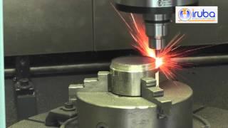 IRUBA Mat INCONEL 718 FRÄSEN mit Voll Keramik Werkzeug