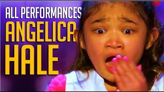 Angelica Hale ALL Performances on America's Got Talent And AGT Champions