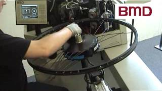 Bicycle wheel lacing machine e bike
