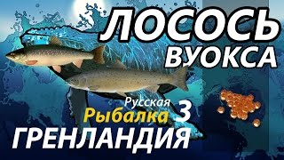 Где ловить лосося каспийского в рр3