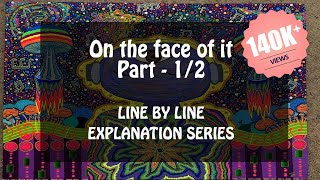 On the face of it Part - 1/2 Class 12 in Hindi By Susan Hill, English 12 Vistas, NCERT, CBSE
