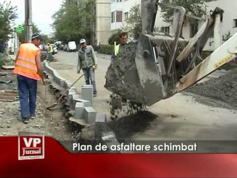 Plan de asfaltare schimbat
