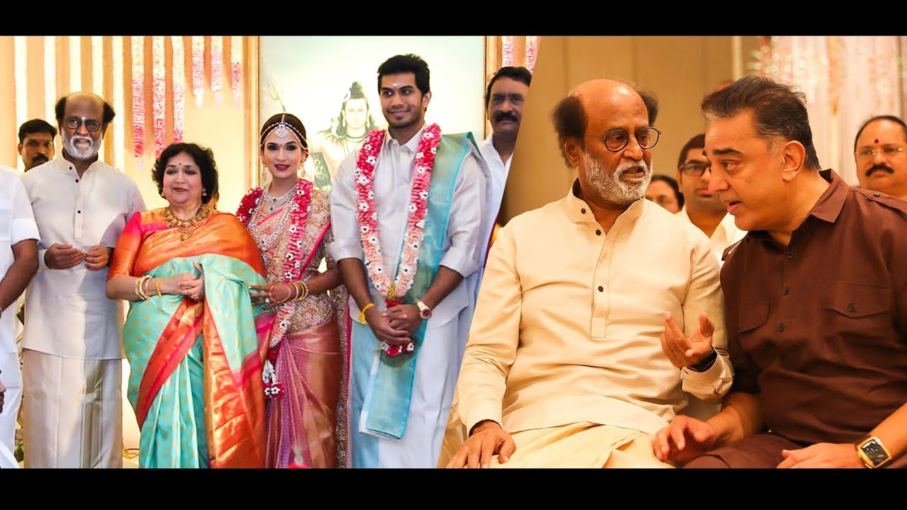 GRAND WEDDING Video: Huge List of Celebrities at Soundarya Marriage Function | Rajini