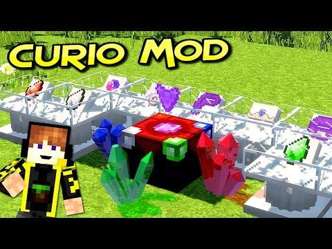 Curios Mod | Accesorios Poderosos Para Tu Aventura | Para Minecraft 1.12.2 | Review En Español
