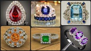 World Most Demanding And Fabulous Different Gemstone Rings Designs Ideas Latest Collection