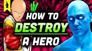 Watchmen vs. One Punch Man: How To Destroy A Hero (Satire vs. Parody) – Wisecrack Edition