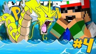 Minecraft: POKEMON!! #4 - GYARADOS CHALLENGE!!
